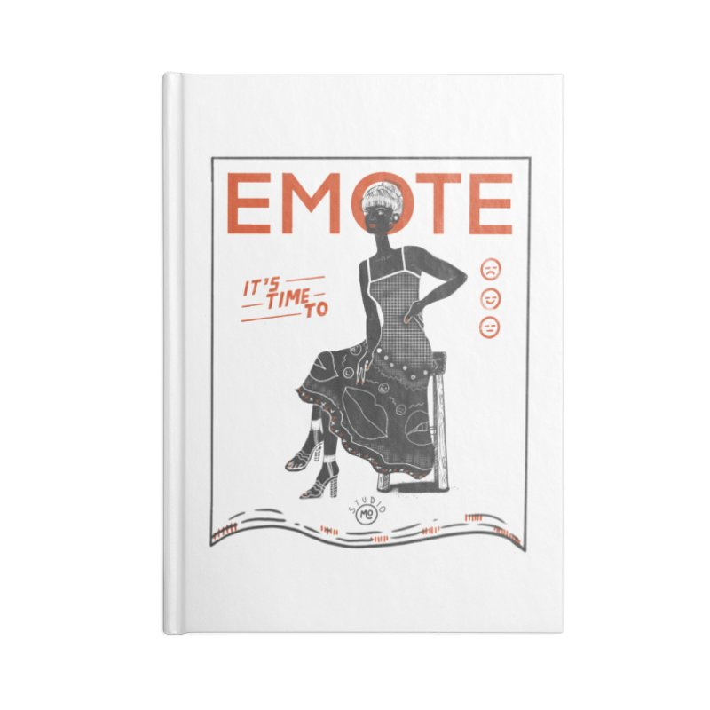 EMOTE Accessories Notebook by Tequila Sunday