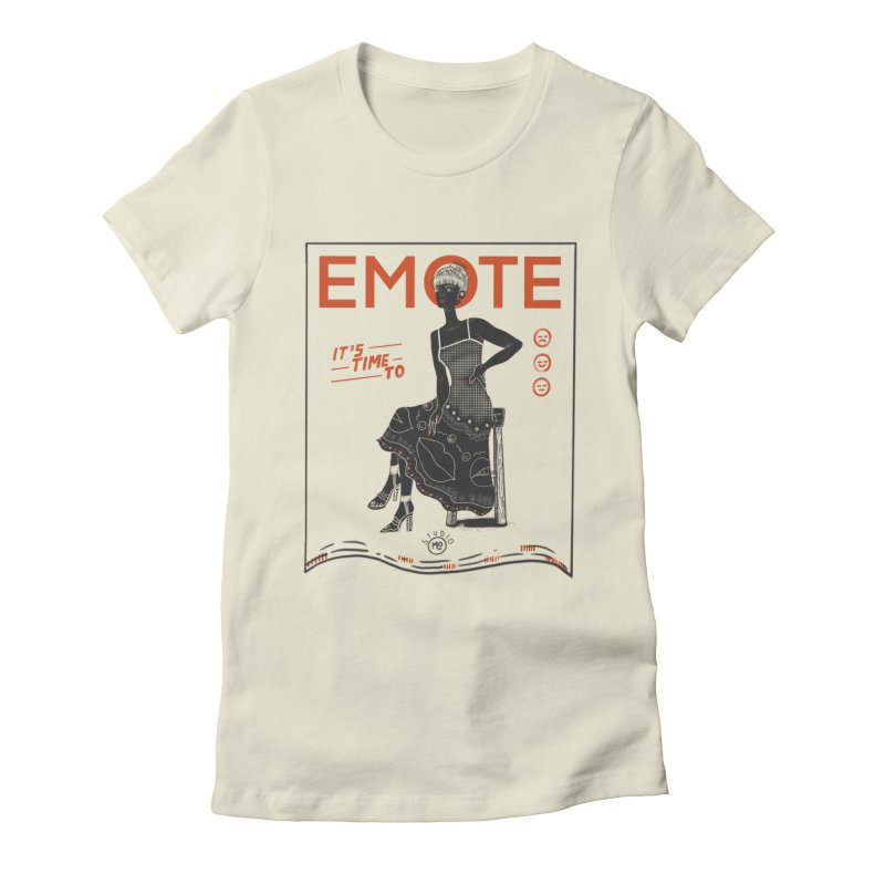 EMOTE Women's T-Shirt by Tequila Sunday