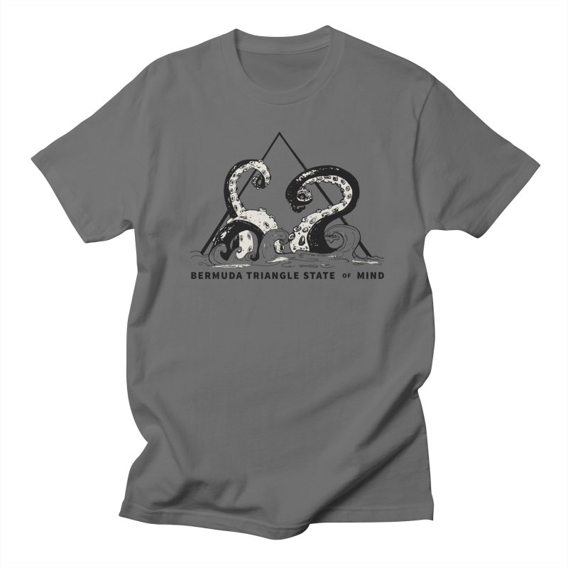Bermuda Triangle State of Mind Men's T-Shirt by Tequila Sunday