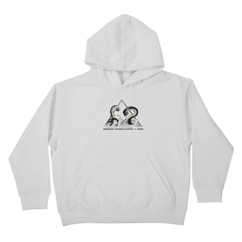 Bermuda Triangle State of Mind Kids Pullover Hoody by Tequila Sunday