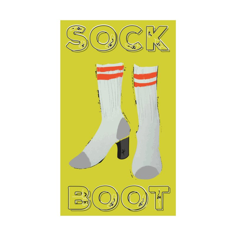 Sock Boot Women's T-Shirt by Tequila Sunday