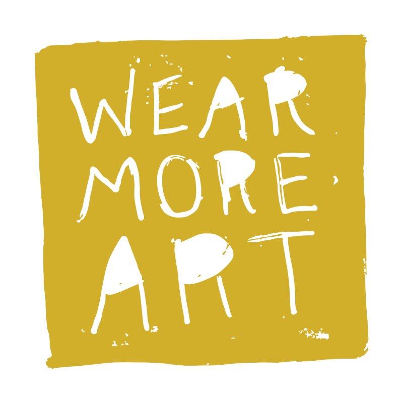 Wear More Art: Mustard Men's V-Neck by Tequila Sunday