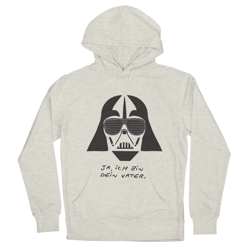 yes, I am your father Men's French Terry Pullover Hoody by 8 TV Artist Shop