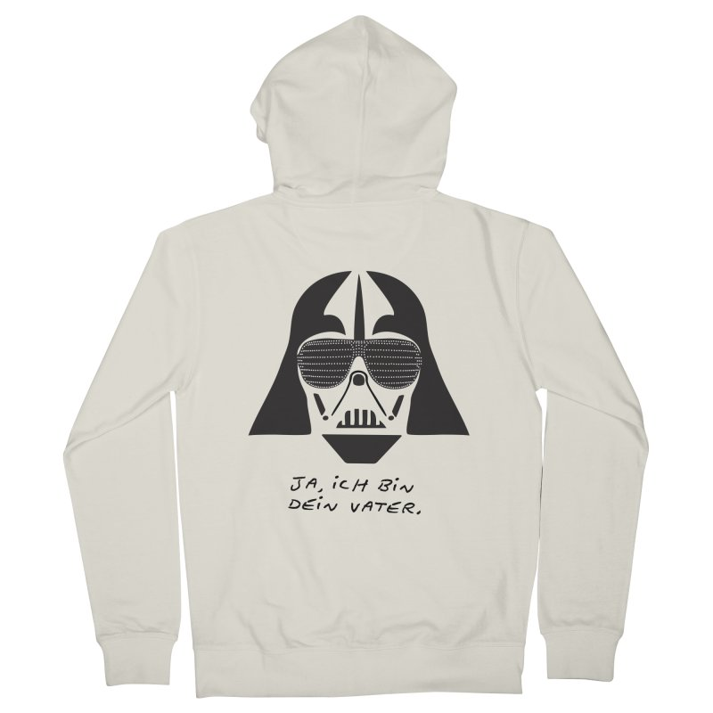 yes, I am your father Women's French Terry Zip-Up Hoody by 8 TV Artist Shop