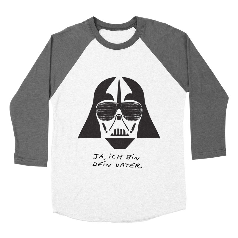 yes, I am your father Women's Baseball Triblend Longsleeve T-Shirt by 8 TV Artist Shop