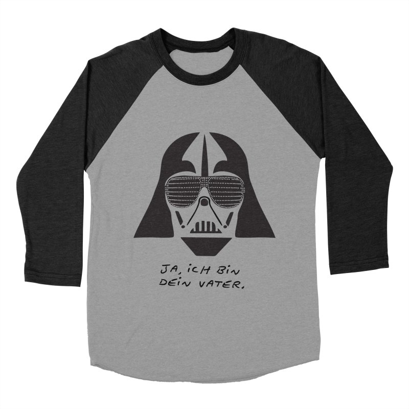 yes, I am your father Men's Baseball Triblend T-Shirt by 8 TV Artist Shop