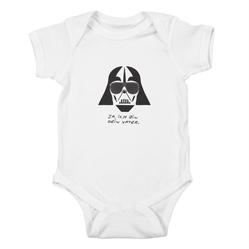 yes, I am your father Kids Baby Bodysuit by 8 TV Artist Shop