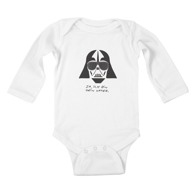 yes, I am your father Kids Baby Longsleeve Bodysuit by 8 TV Artist Shop