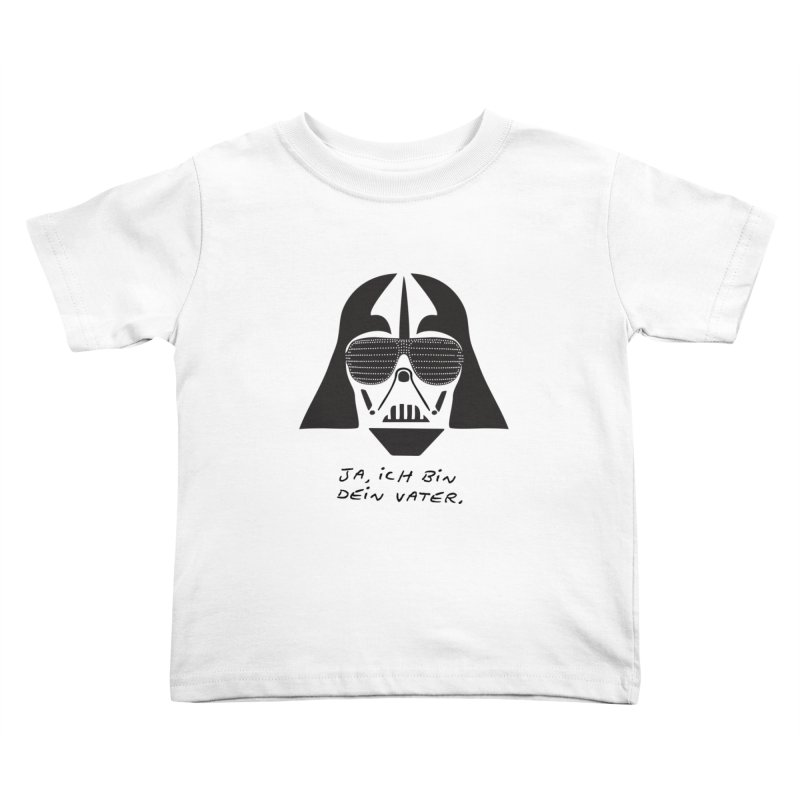 yes, I am your father Kids Toddler T-Shirt by 8 TV Artist Shop