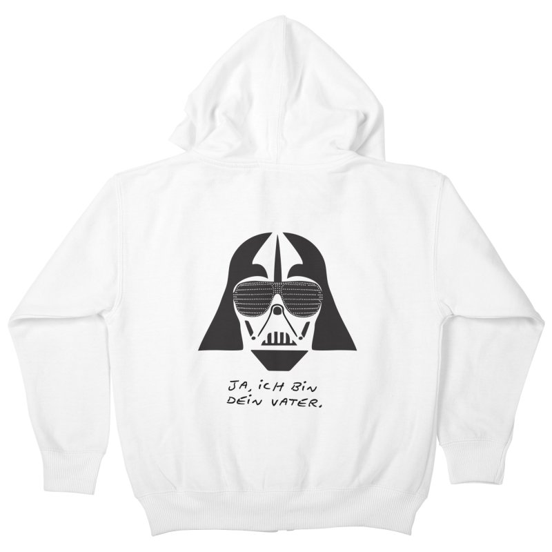 yes, I am your father Kids Zip-Up Hoody by 8 TV Artist Shop