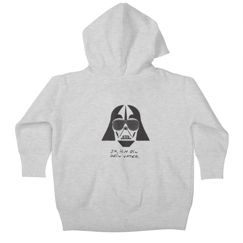 yes, I am your father Kids Baby Zip-Up Hoody by 8 TV Artist Shop