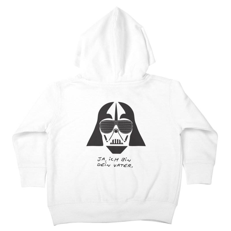 yes, I am your father Kids Toddler Zip-Up Hoody by 8 TV Artist Shop