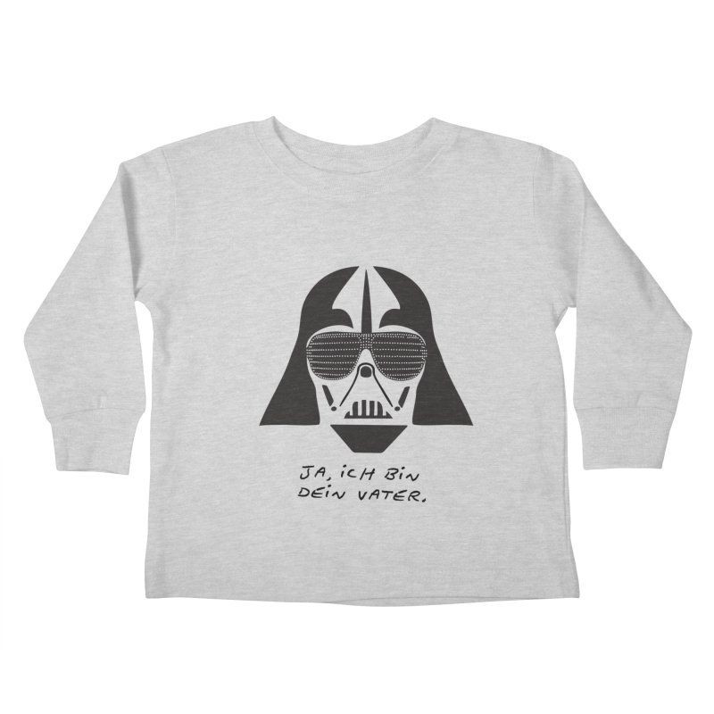 yes, I am your father Kids Toddler Longsleeve T-Shirt by 8 TV Artist Shop