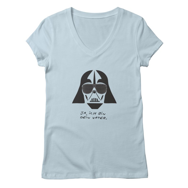 yes, I am your father Women's V-Neck by 8 TV Artist Shop