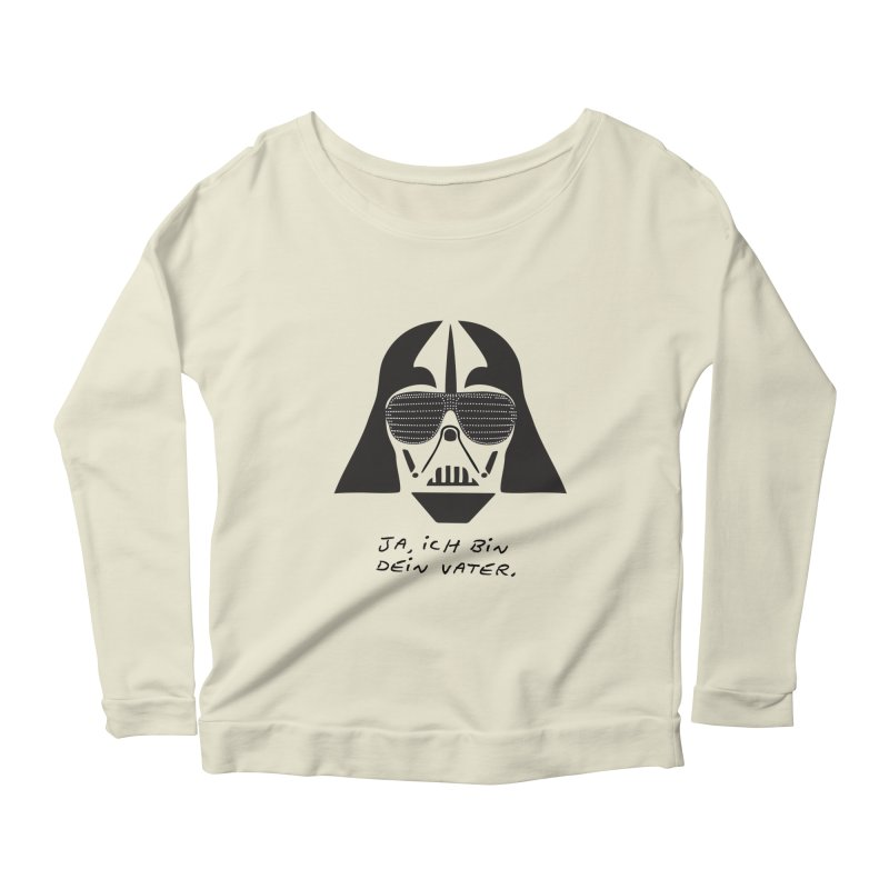 yes, I am your father Women's Scoop Neck Longsleeve T-Shirt by 8 TV Artist Shop