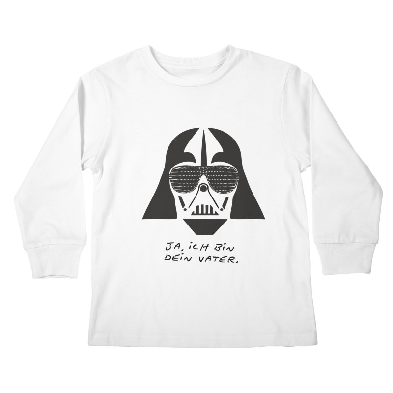 yes, I am your father Kids Longsleeve T-Shirt by 8 TV Artist Shop