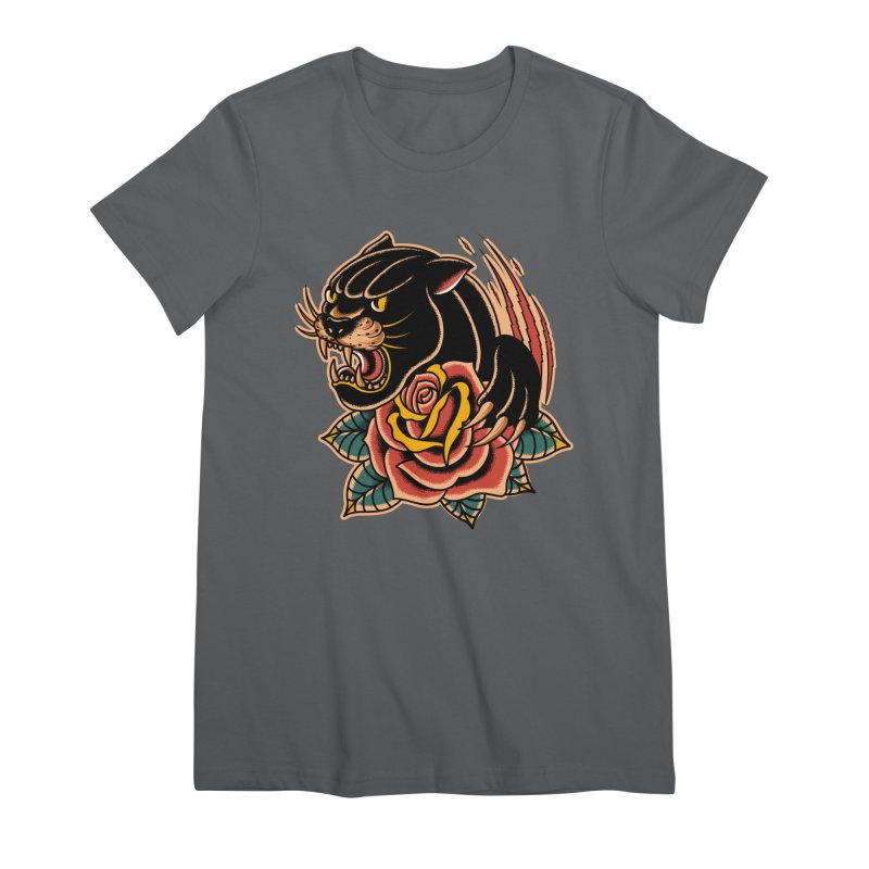 Black Panther Women's T-Shirt by TerpeneTom's Artist Shop