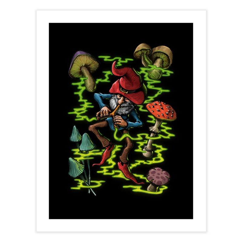 Smoking Gnome Home Fine Art Print by TerpeneTom's Artist Shop