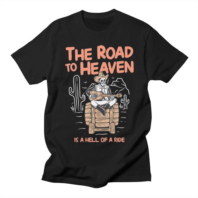 Hell Of A Ride Men's T-Shirt by TerpeneTom's Artist Shop