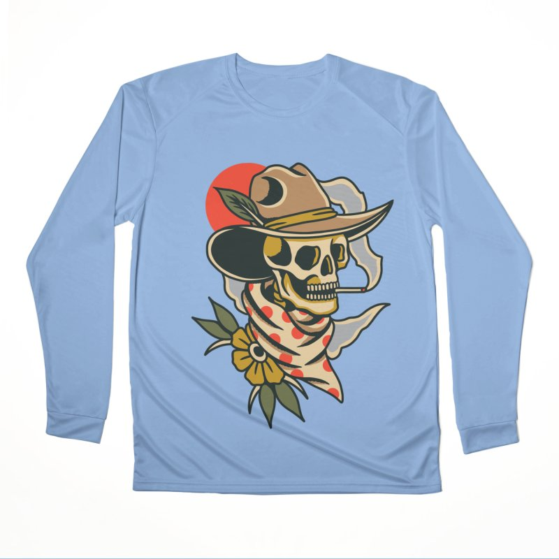 Quirky Cowboy Women's Longsleeve T-Shirt by TerpeneTom's Artist Shop