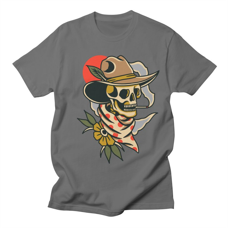Quirky Cowboy Men's T-Shirt by TerpeneTom's Artist Shop