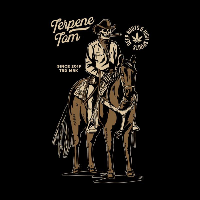 Cannabis Western Men's T-Shirt by TerpeneTom's Artist Shop