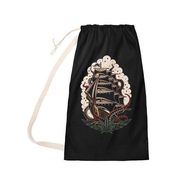 Pirate Ship Accessories Bag by TerpeneTom's Artist Shop