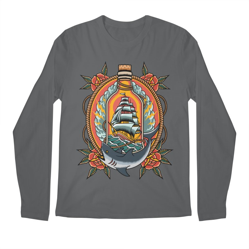 Wanderlust Men's Longsleeve T-Shirt by TerpeneTom's Artist Shop