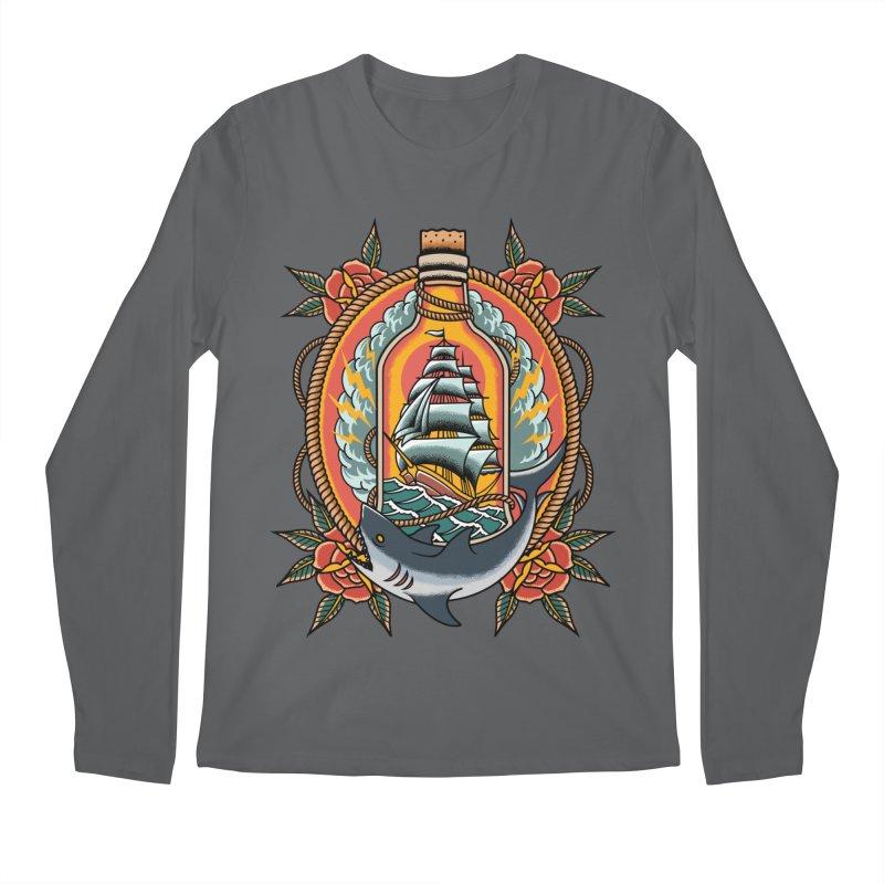 Wanderlust Men's Longsleeve T-Shirt by TerpeneTom's Artist Shop