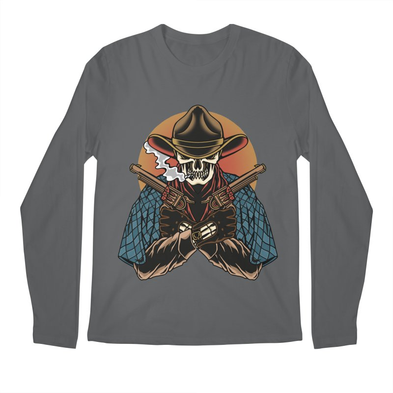 The Outlaw Men's Longsleeve T-Shirt by TerpeneTom's Artist Shop