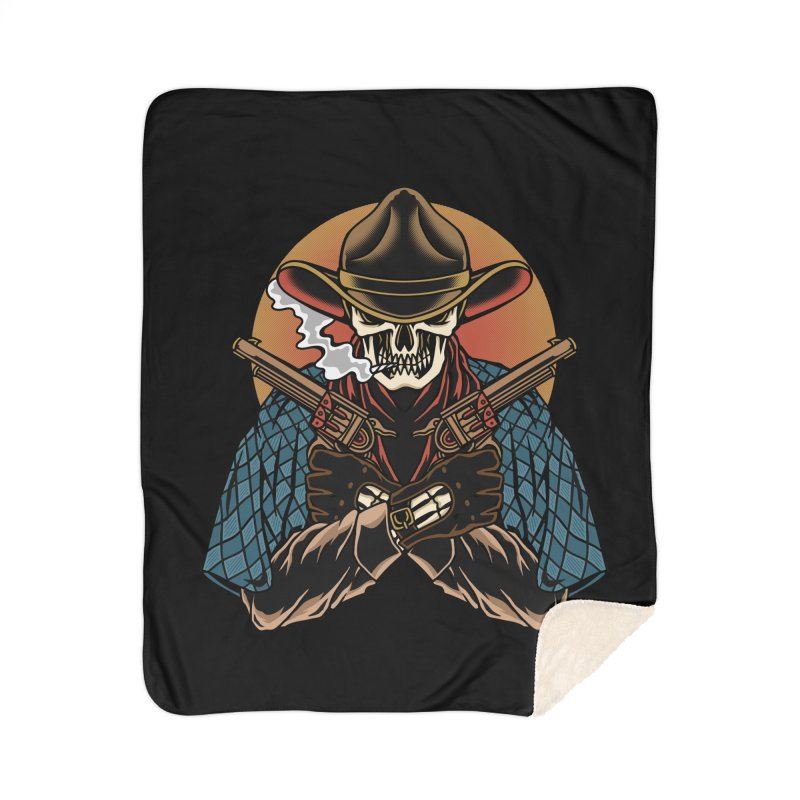 The Outlaw Home Blanket by TerpeneTom's Artist Shop