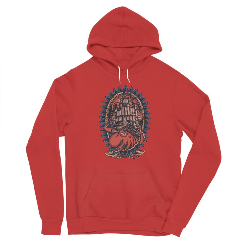 The Kraken Men's Pullover Hoody by TerpeneTom's Artist Shop