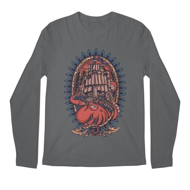 The Kraken Men's Longsleeve T-Shirt by TerpeneTom's Artist Shop