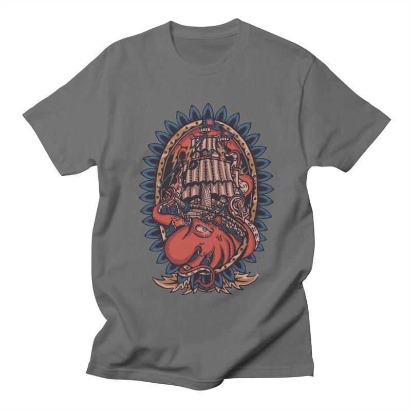 The Kraken Men's T-Shirt by TerpeneTom's Artist Shop