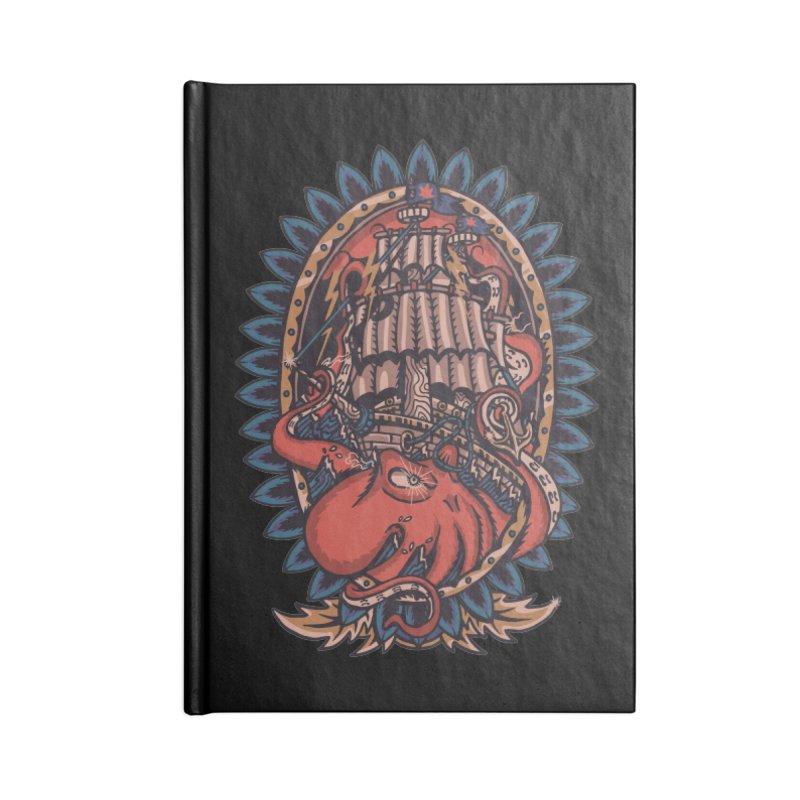 The Kraken Accessories Notebook by TerpeneTom's Artist Shop