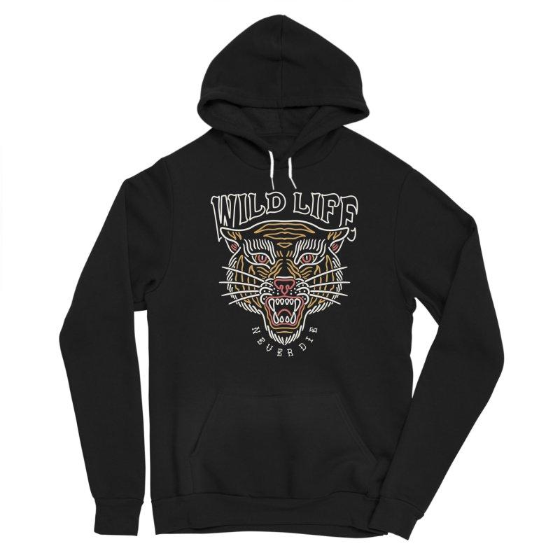 Wild Tiger Men's Pullover Hoody by TerpeneTom's Artist Shop