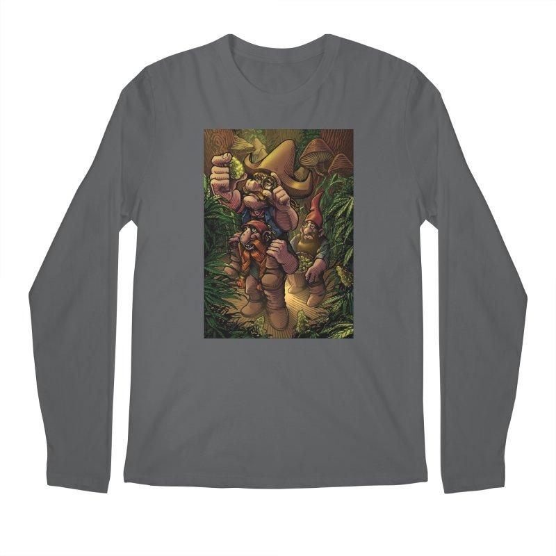 Gnome Gold Men's Longsleeve T-Shirt by TerpeneTom's Artist Shop