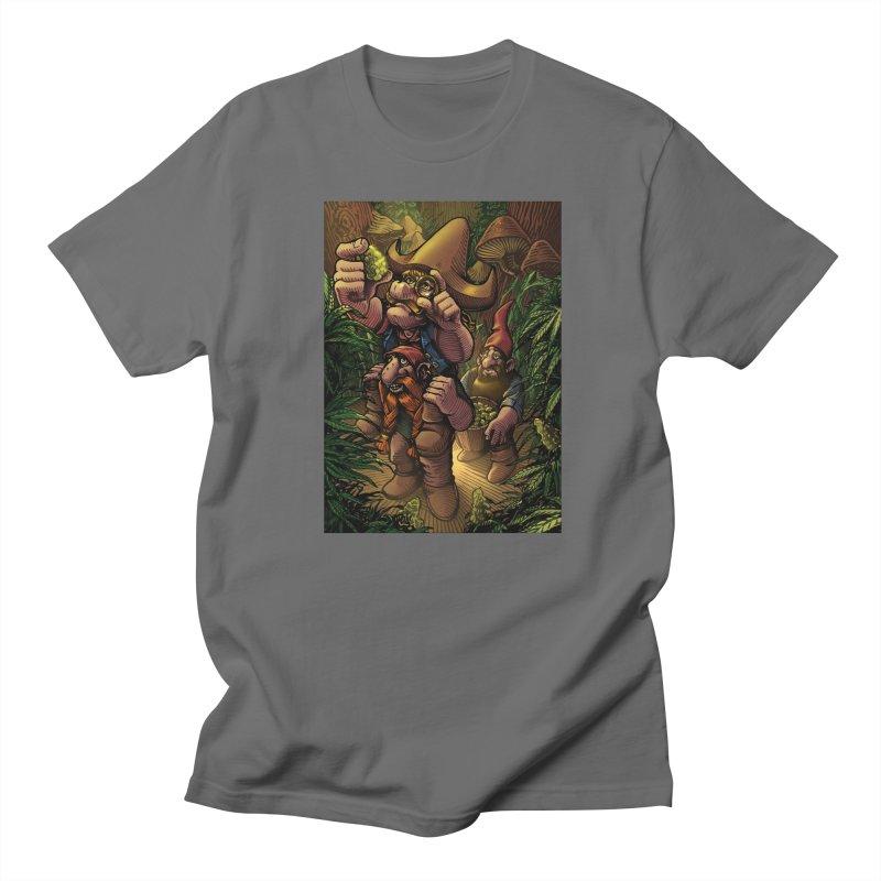 Gnome Gold Men's T-Shirt by TerpeneTom's Artist Shop
