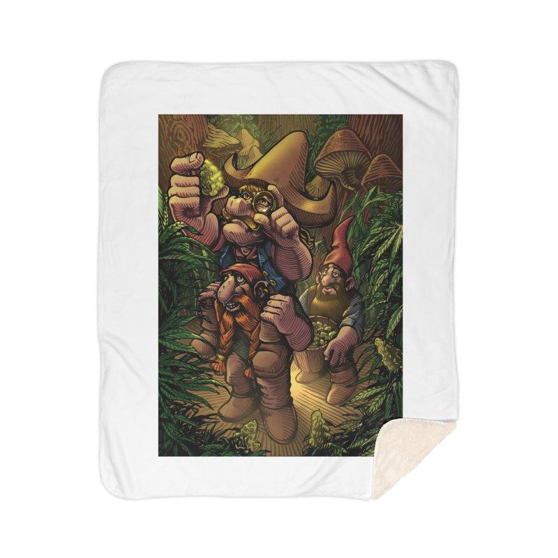 Gnome Gold Home Blanket by TerpeneTom's Artist Shop