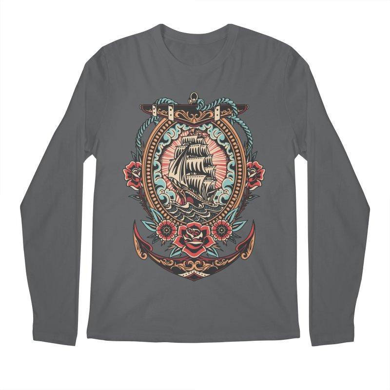 Rosy Arrival Men's Longsleeve T-Shirt by TerpeneTom's Artist Shop