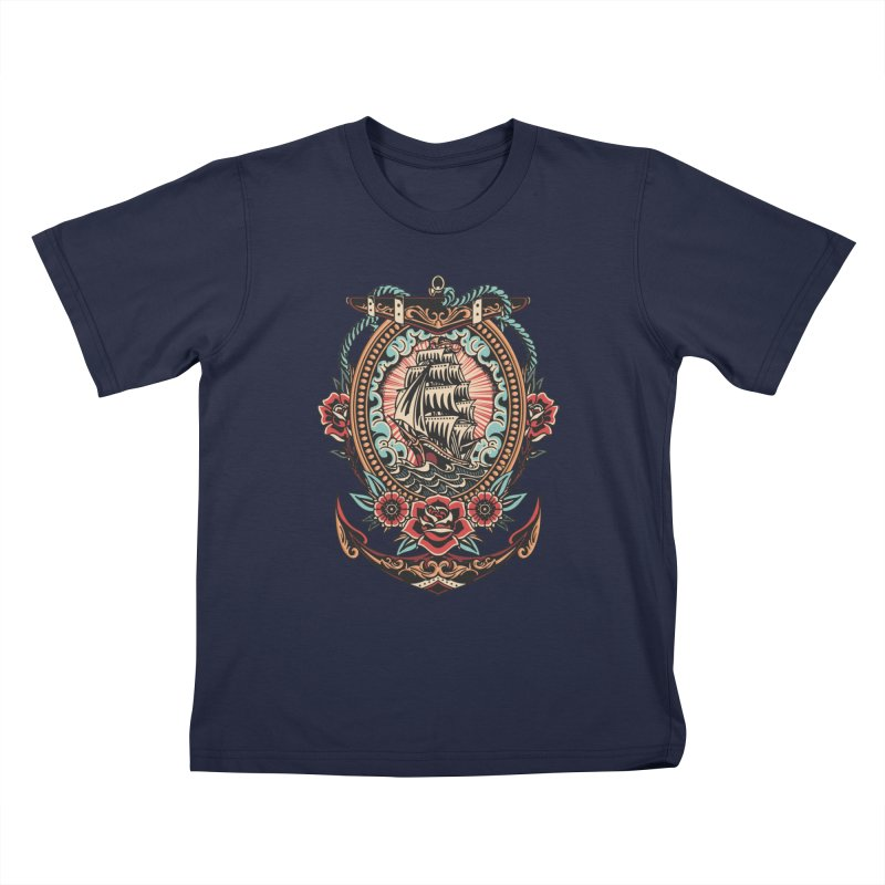 Rosy Arrival Kids T-Shirt by TerpeneTom's Artist Shop