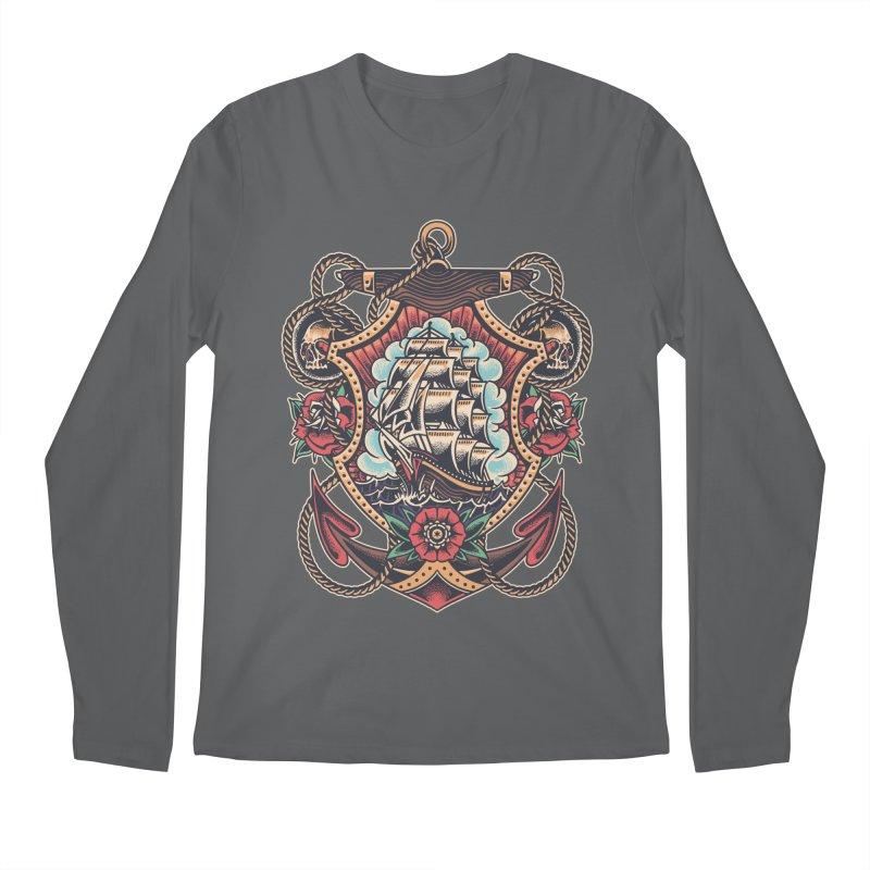 Bold Adventure Men's Longsleeve T-Shirt by TerpeneTom's Artist Shop