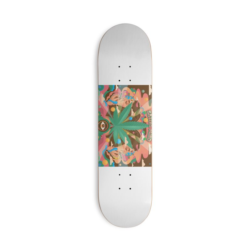 High Minded Accessories Skateboard by TerpeneTom's Artist Shop