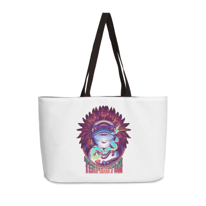 Frog Shaman Accessories Bag by TerpeneTom's Artist Shop
