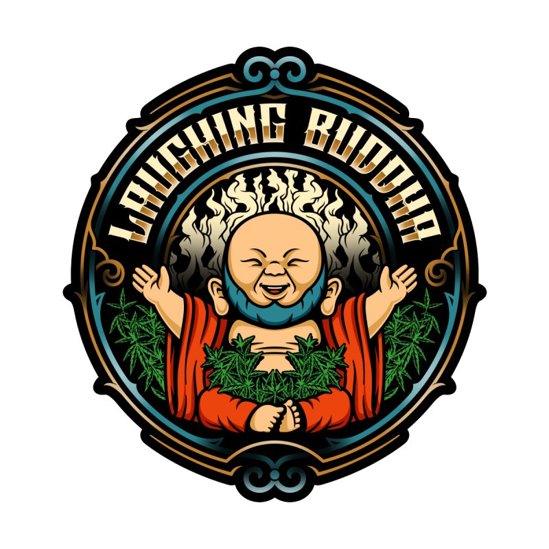 Cannabis Buddha Men's T-Shirt by TerpeneTom's Artist Shop