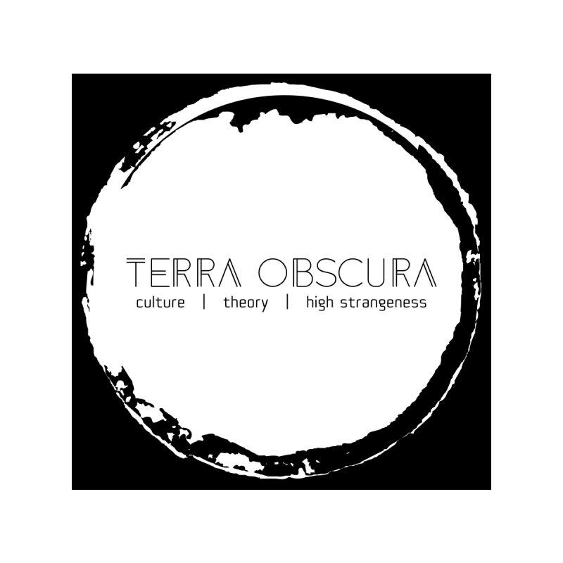 Terra Obscura White Logo by Terra Obscura's Shop