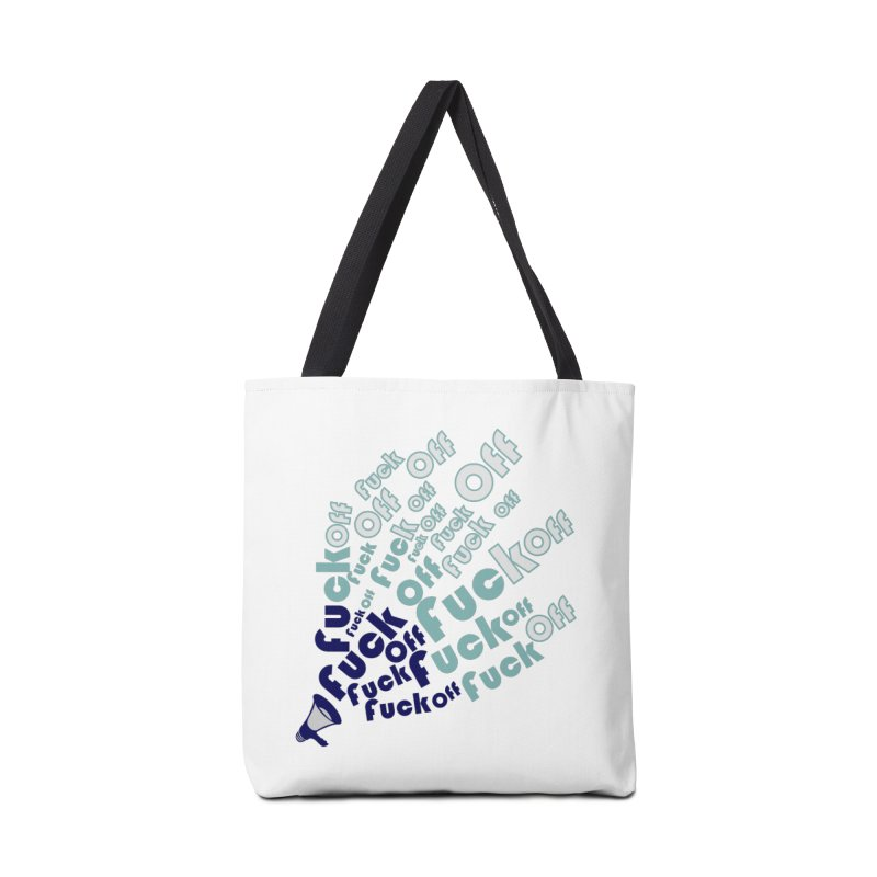 F**k Accessories Tote Bag Bag by TerrificPain's Artist Shop by SaulTP