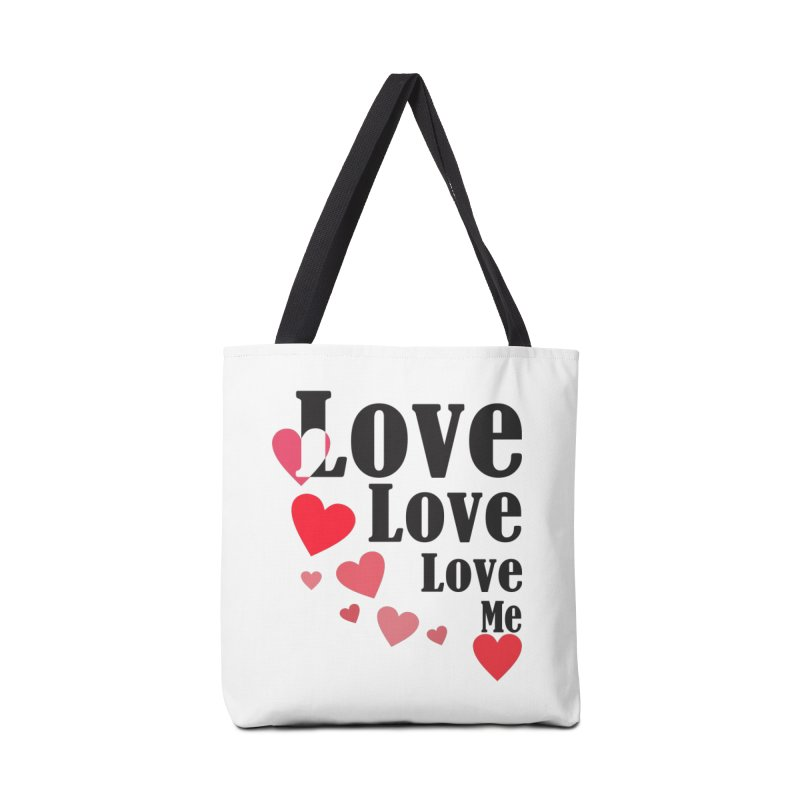 Love... me Accessories Tote Bag Bag by TerrificPain's Artist Shop by SaulTP