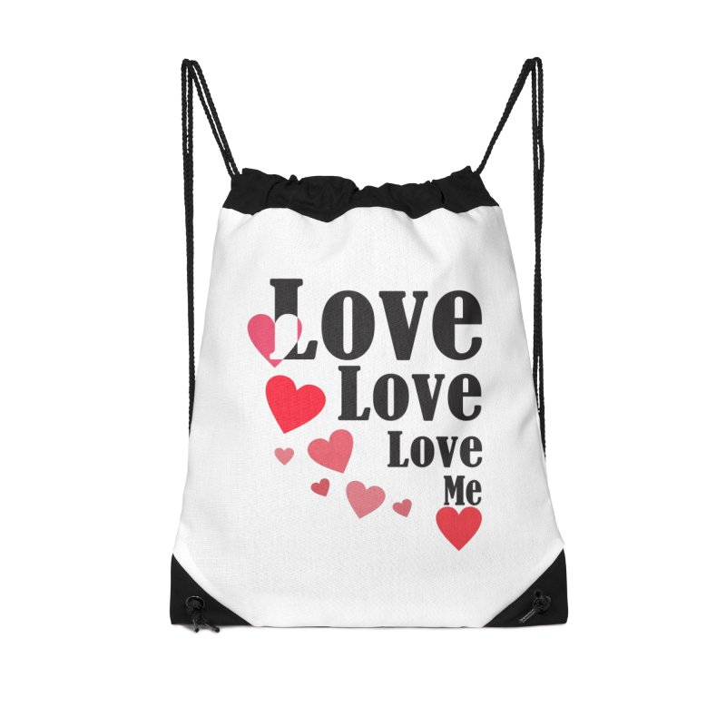 Love... me Accessories Bag by TerrificPain's Artist Shop by SaulTP