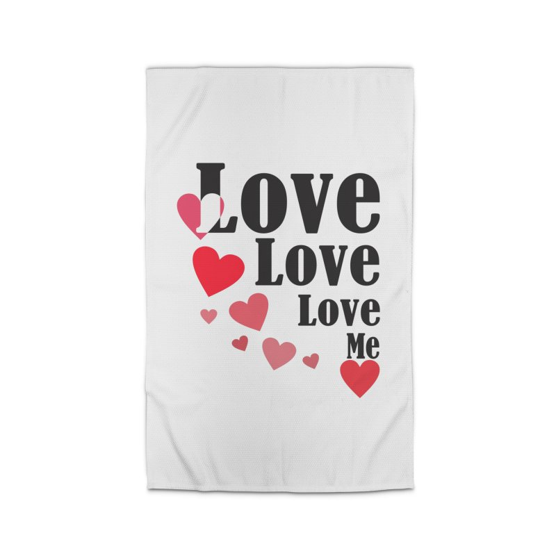 Love... me Home Rug by TerrificPain's Artist Shop by SaulTP